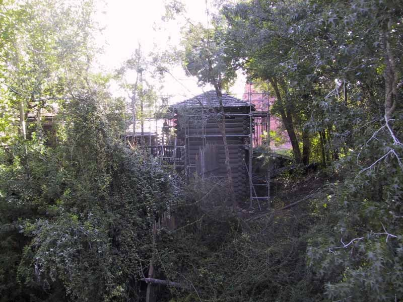Tom Sawyer Island refurbishment