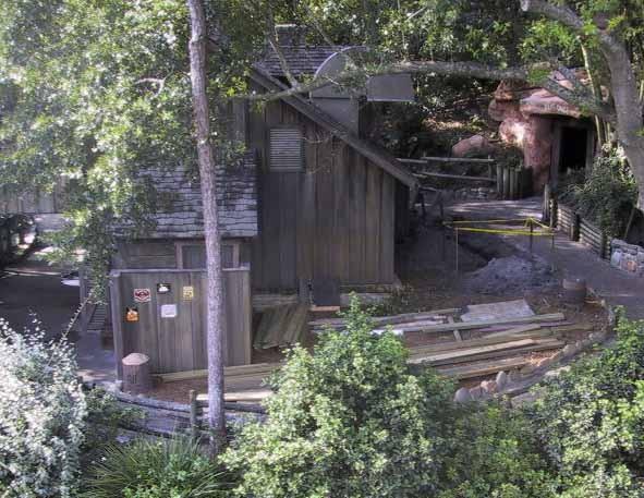 Tom Sawyer Island refurbishment