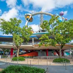 Tommorowland Transit Authority PeopleMover closed - July 2020