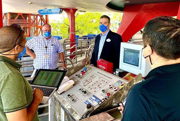 Jeff Vahle at the PeopleMover