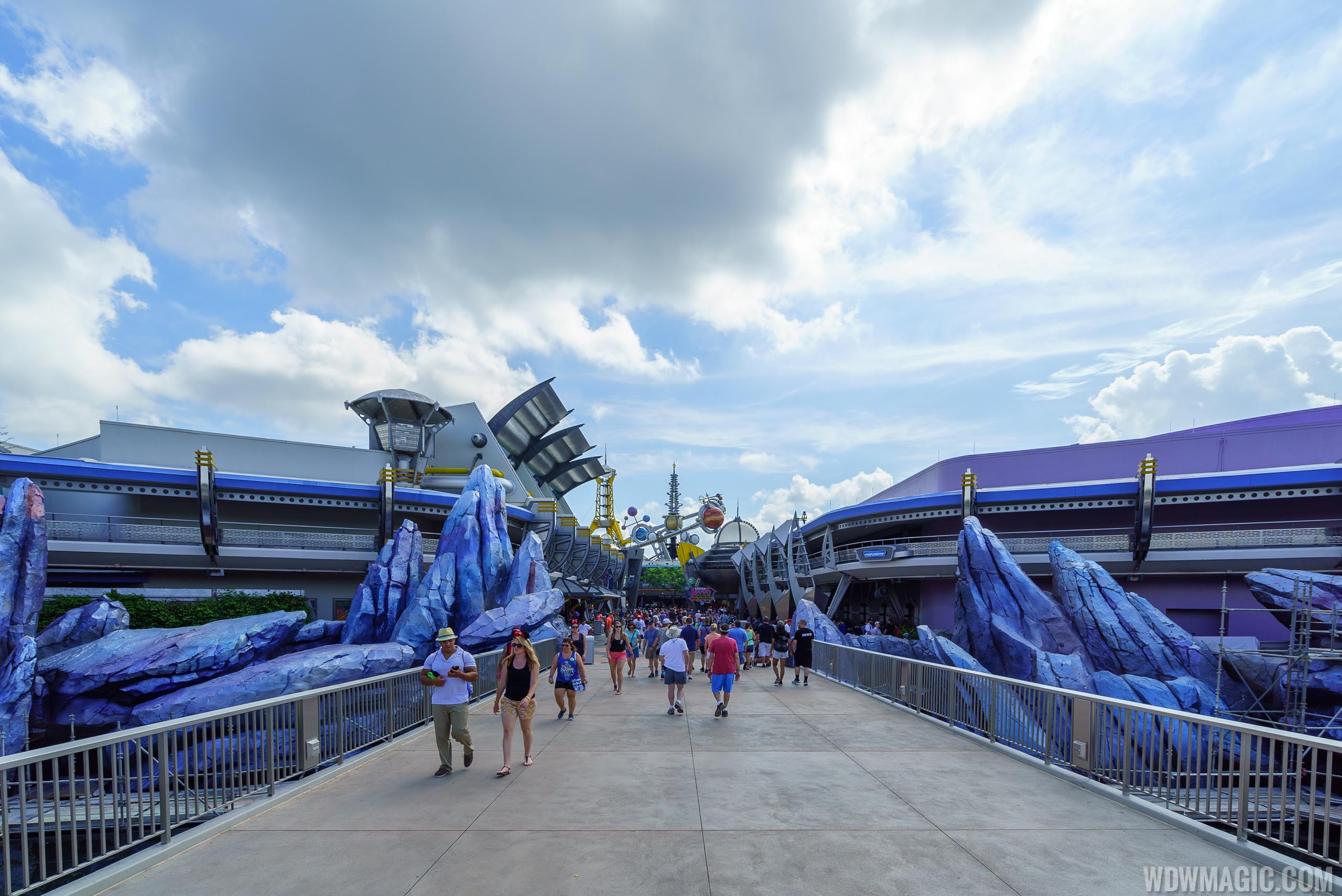 Tomorrowland at the Magic Kingdom