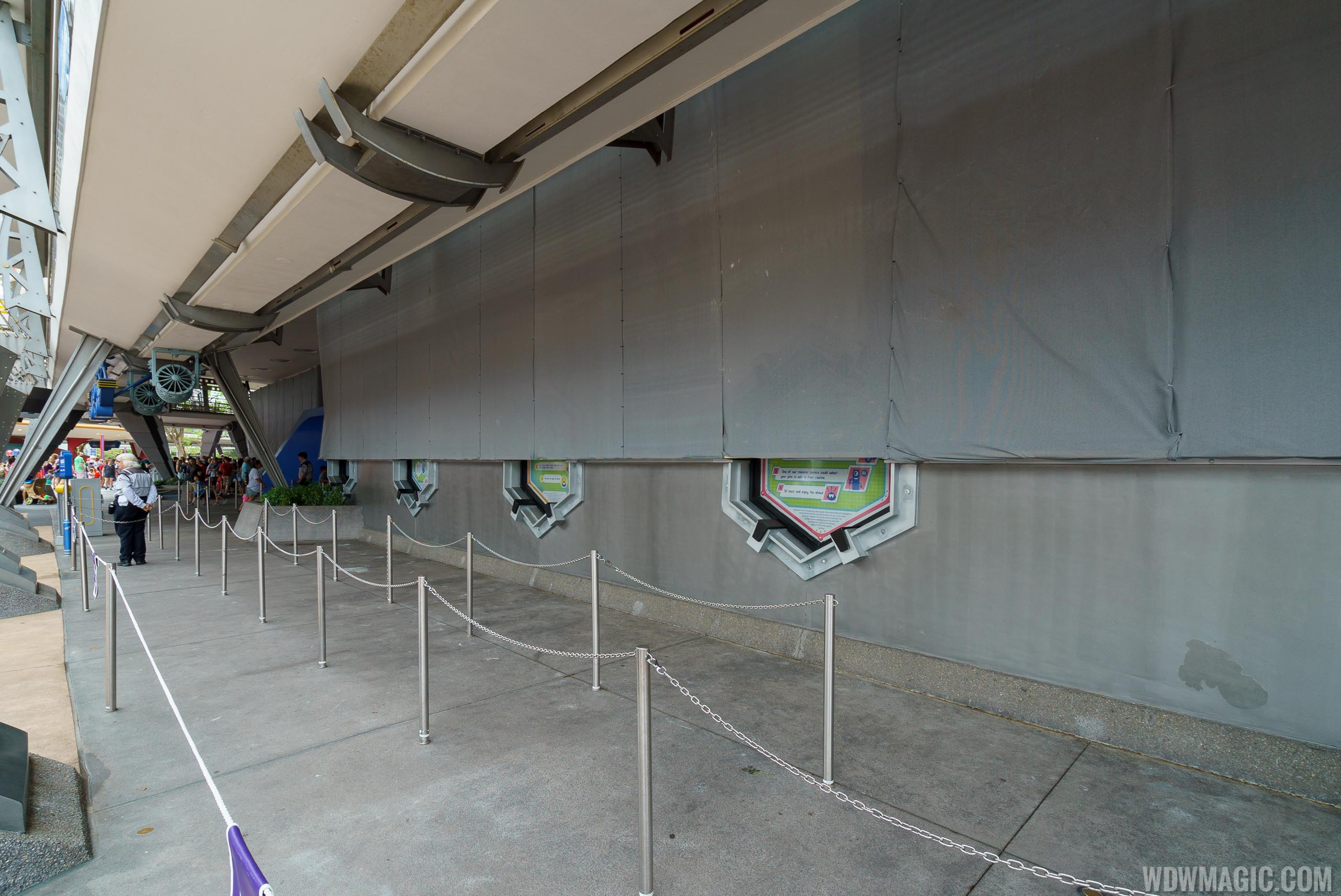 Tomorrowland paint changes