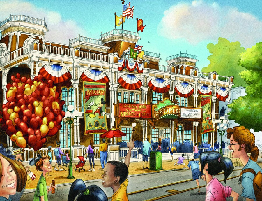 Town Square Theater concept art