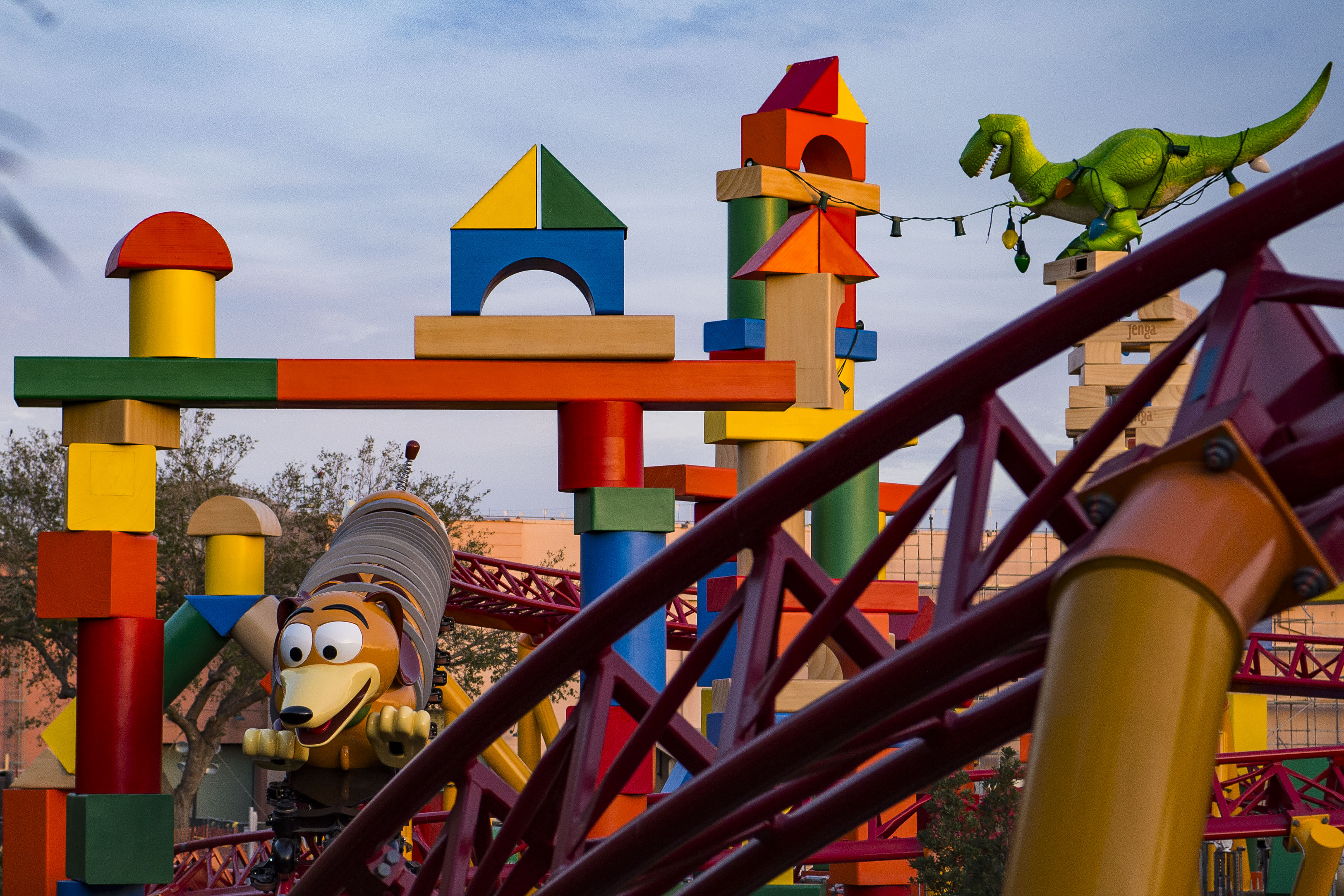 Toy Story Land overview