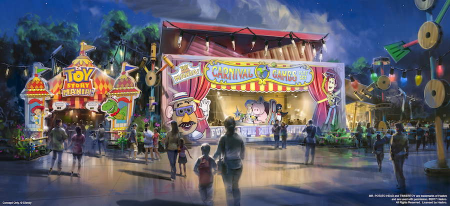 Toy Story Mania entrance
