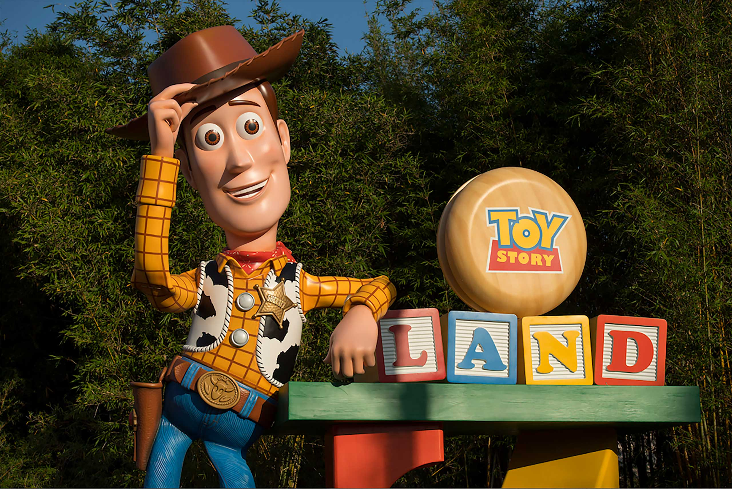 Toy Story Land entrance marquee