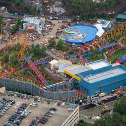 Toy Story Land aerial pictures - May 2018