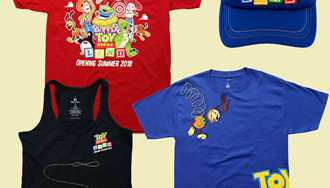 PHOTOS - More merchandise revealed for Toy Story Land