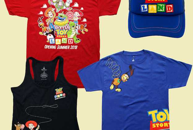 More Toy Story Land merchandise