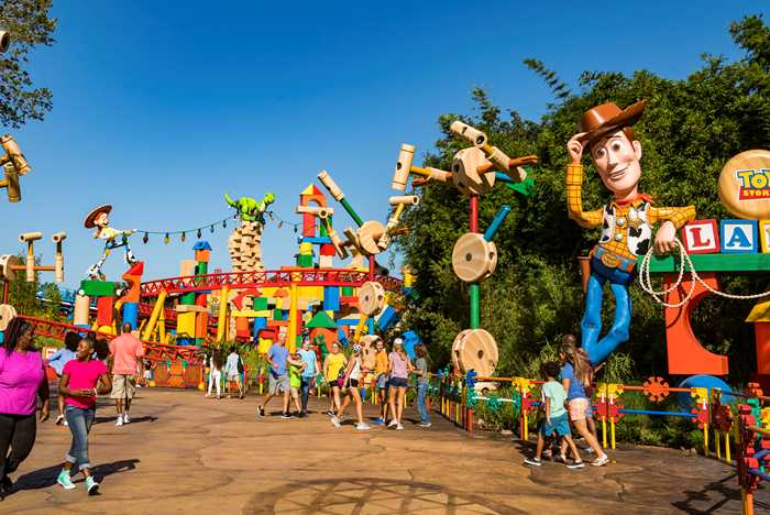 Toy Story Land preview tour