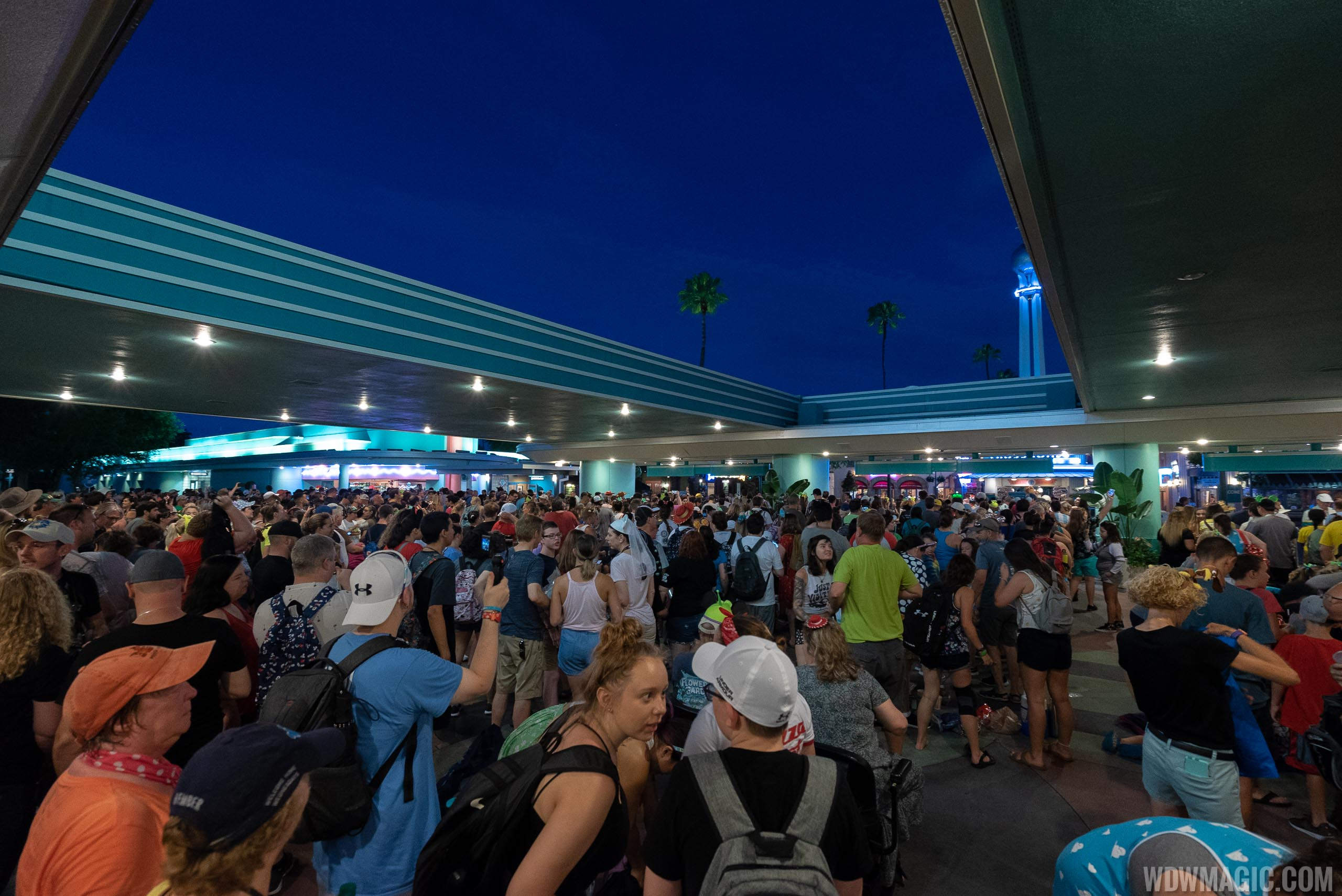 Guests began queuing at 4:30am to enter Disney's Hollywood Studios
