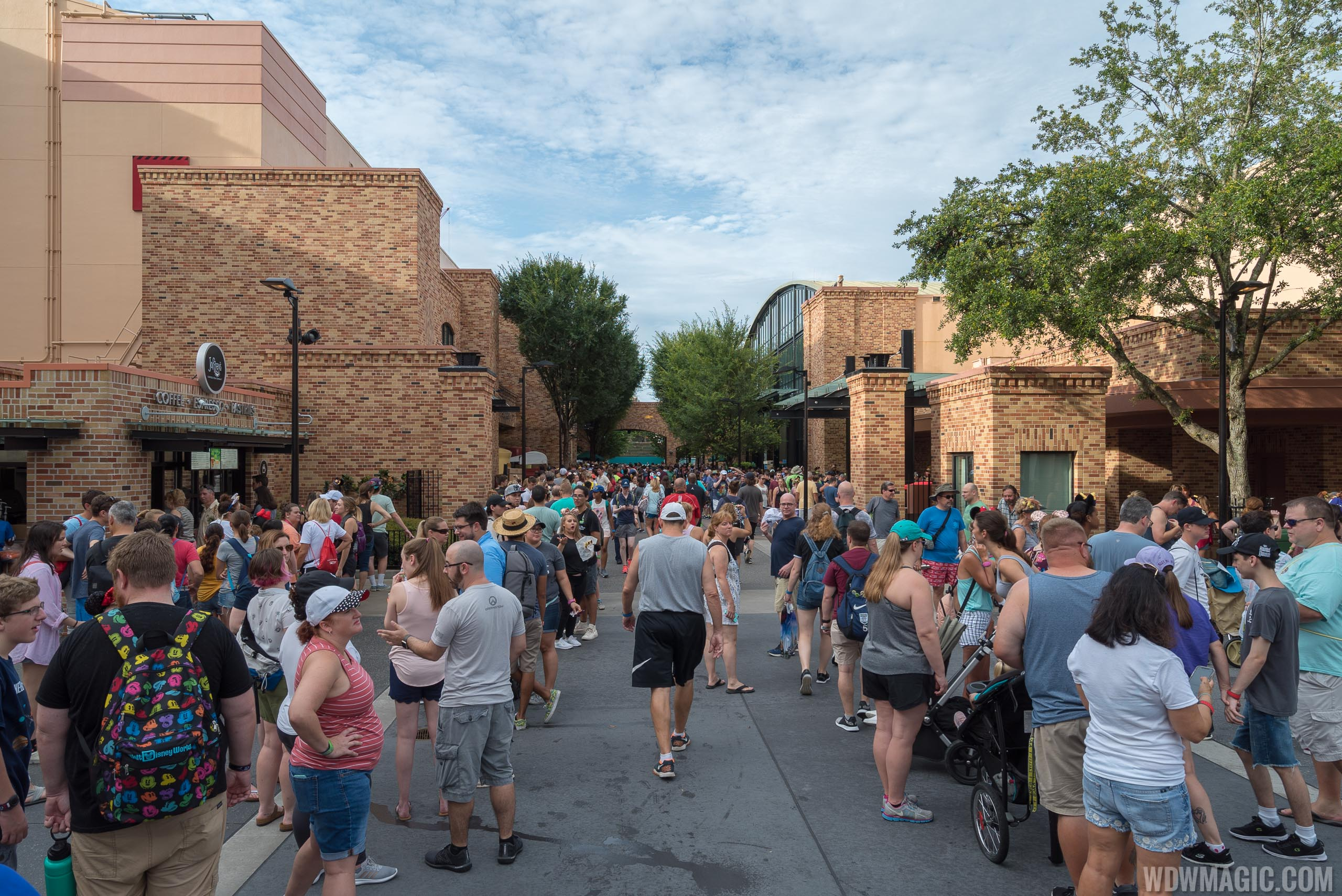 Pixar Place held overflow queues