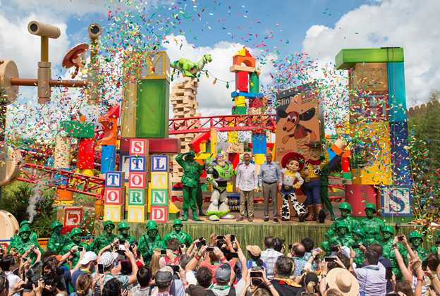 Toy Story Land dedication ceremony
