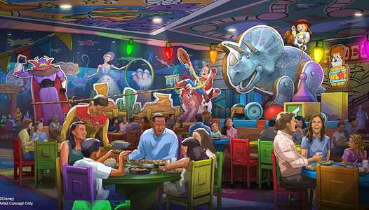 New Roundup Rodeo BBQ table service restaurant coming to Toy Story Land at Disney's Hollywood Studios