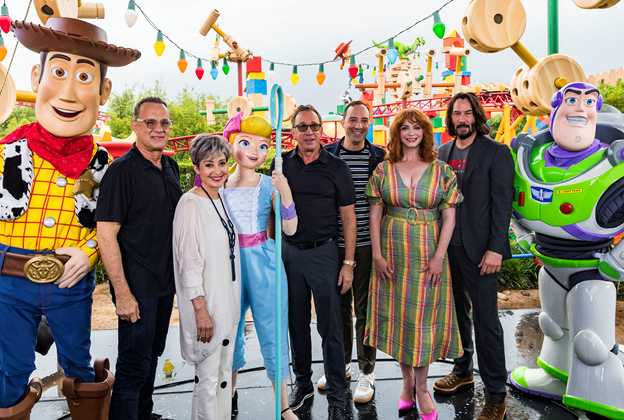 Toy Story 4 Stars Appear in Toy Story Land at Disney's Hollywood Studios