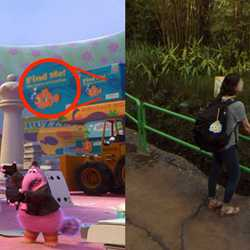 Easter Eggs in Google Street View of Toy Story Land