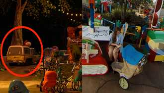 PHOTOS - Hidden Easter Eggs in Google Street View of Toy Story Land