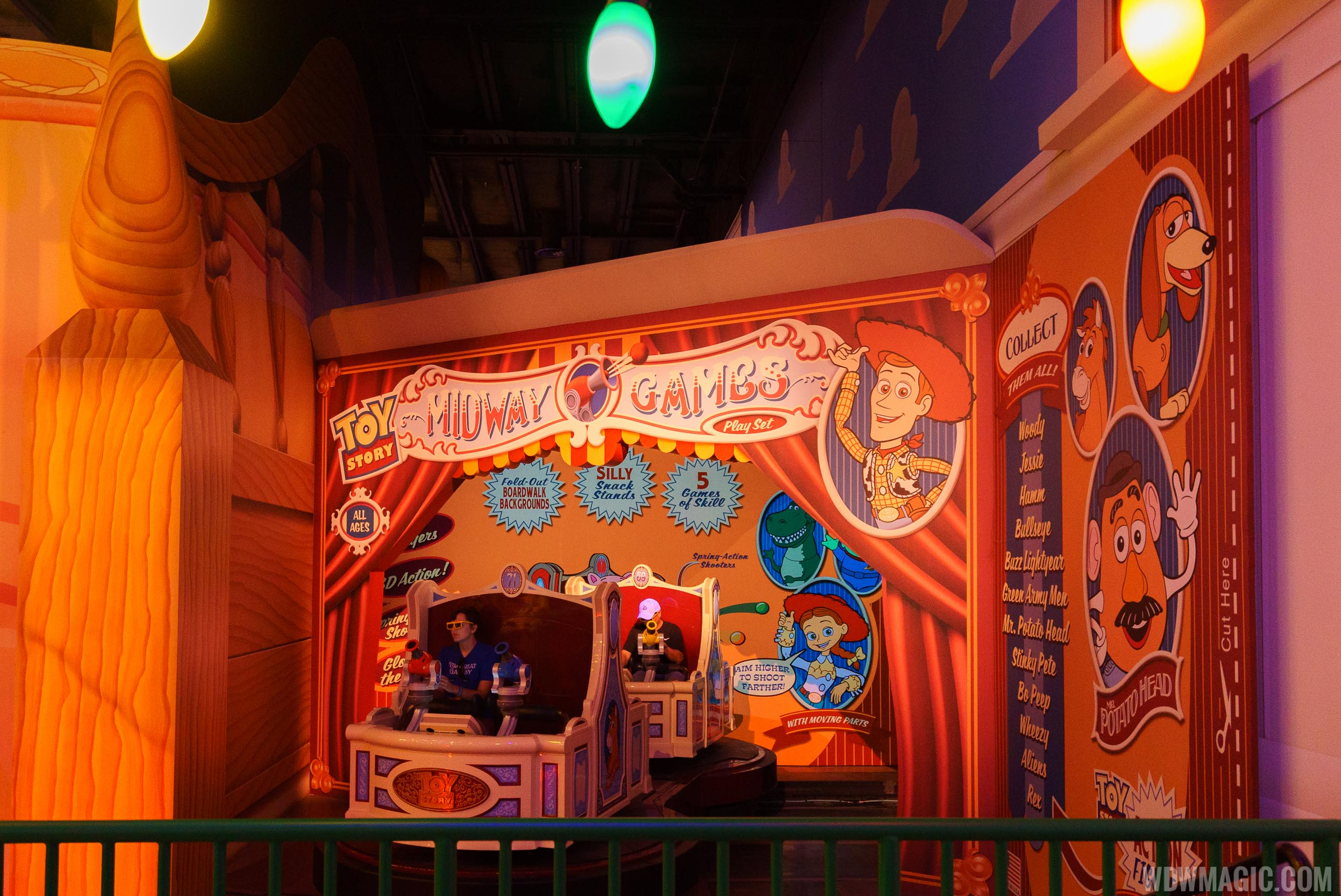 Third Track expansion at Toy Story Mania