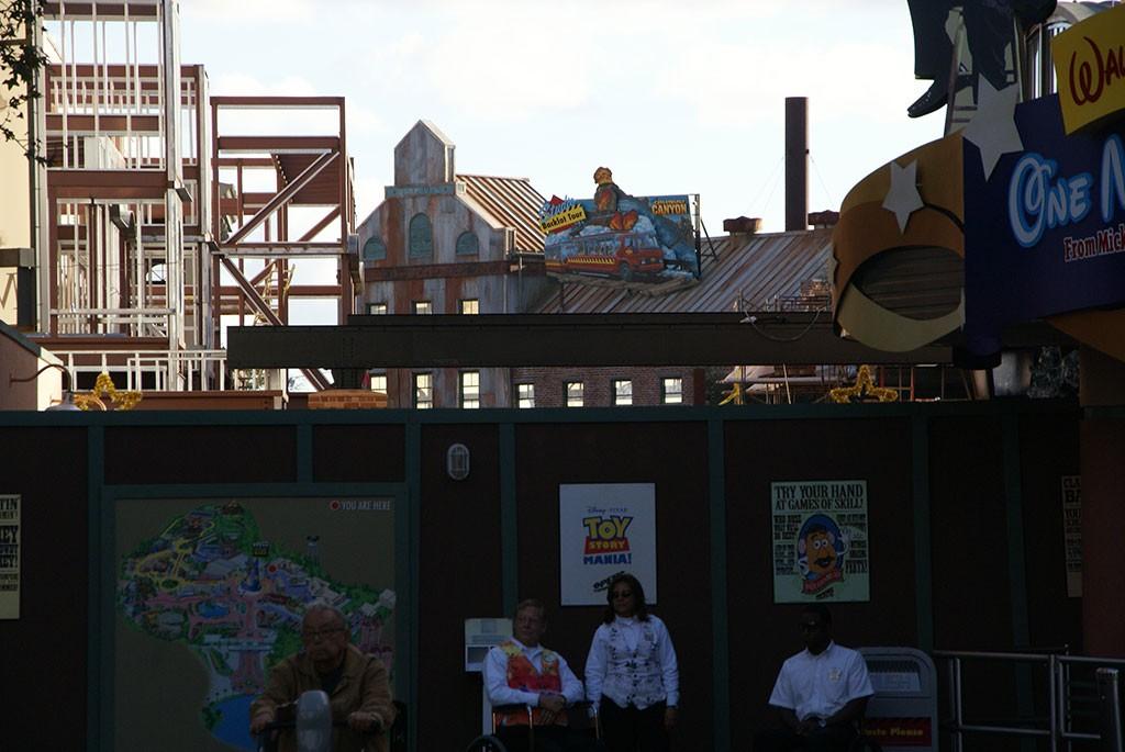 Latest Toy Story Mania construction photos
