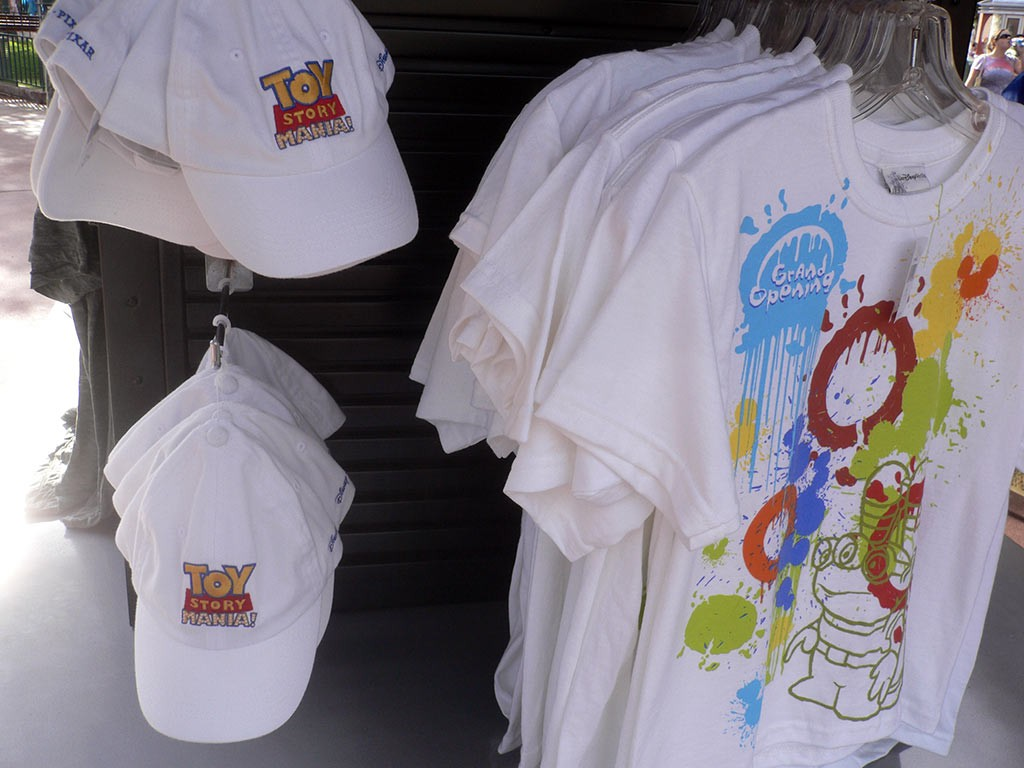 Toy Story Midway Mania merchandise now on sale at the Studios