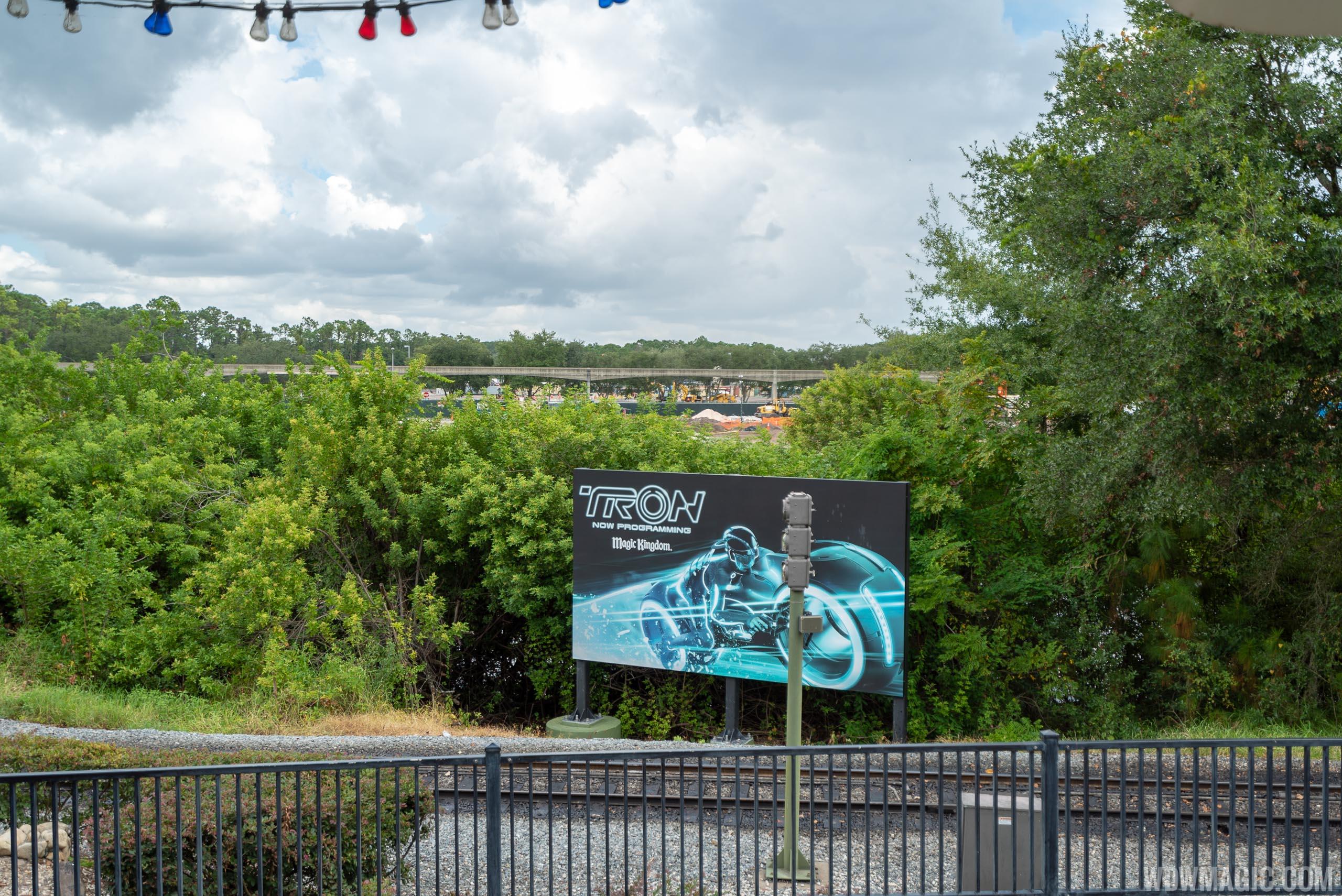 Tron construction site - September 2018