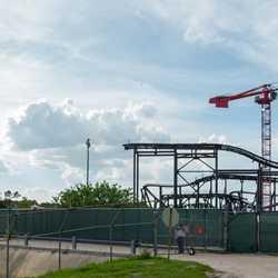 Tron construction site - June 2019