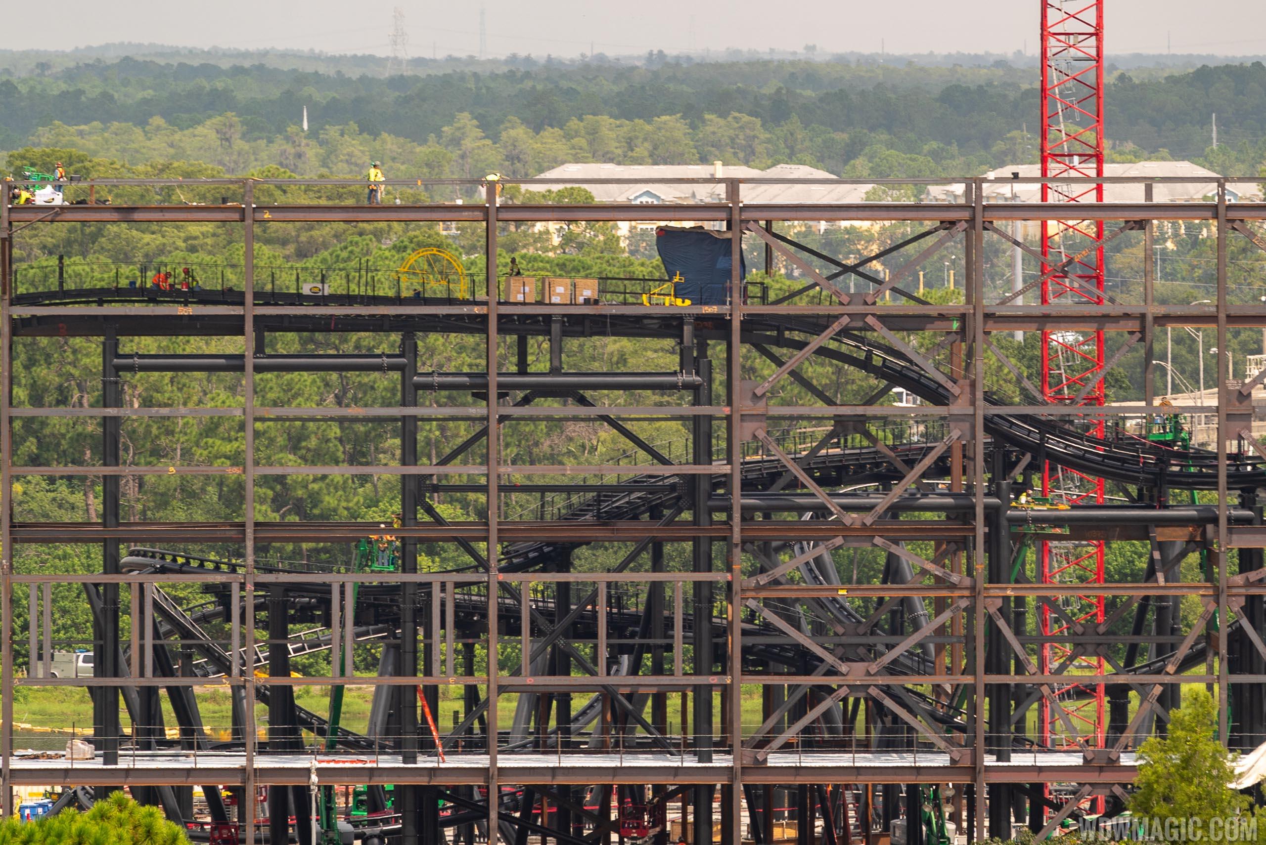 Tron construction site - August 2019