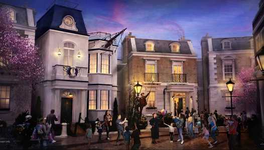 Disney confirms Mary Poppins neighborhood and attraction coming to Epcot's World Showcase