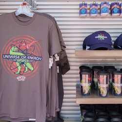 Universe of Energy closing merchandise