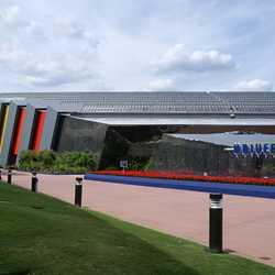 Universe of Energy Pavilion exterior paint refurbishment