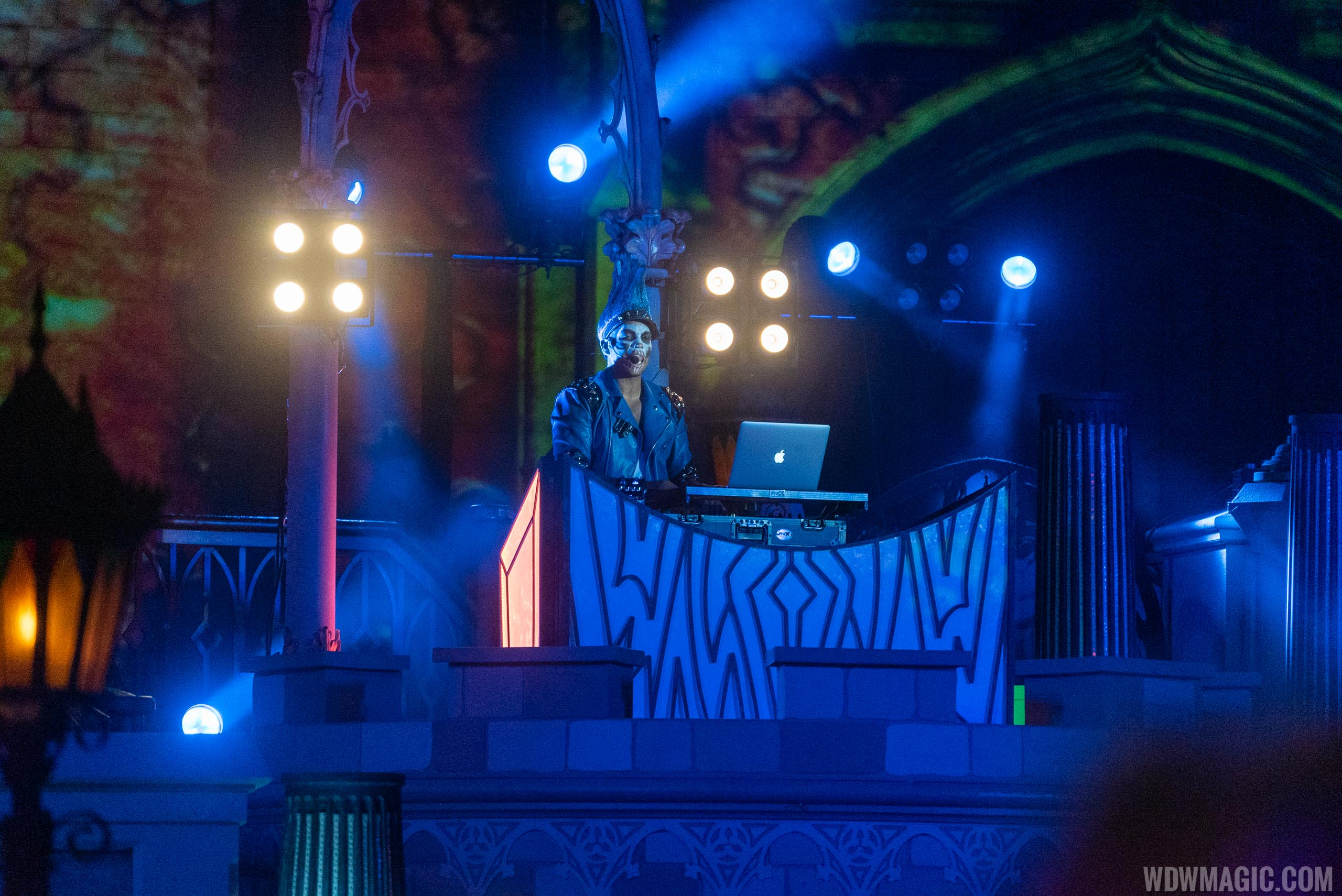 The DJ at Disney Villains After Hours