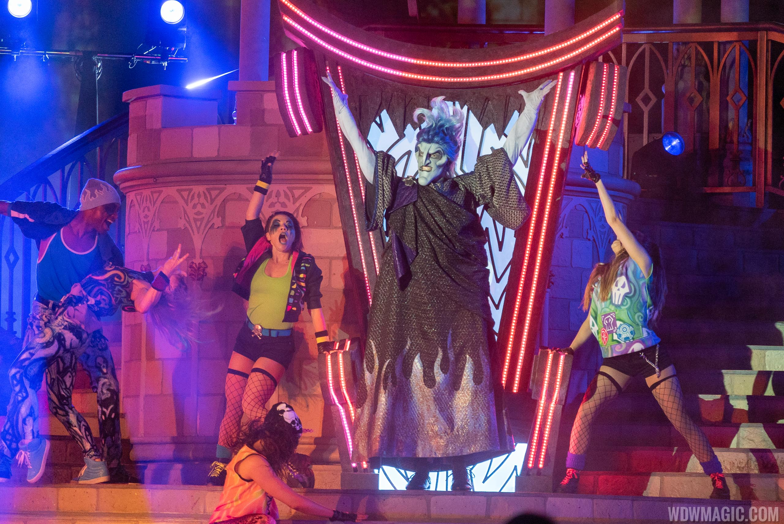 Villains Unite the Night show