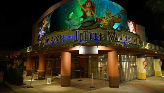 Voyage of the Little Mermaid closing for brief refurbishment this summer