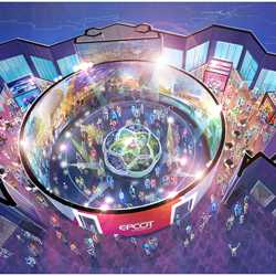 Walt Disney Imagineering presents the Epcot Experience concept art