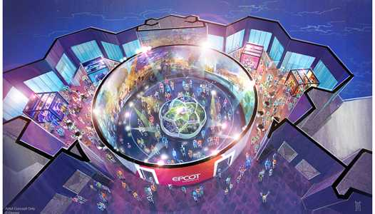 PHOTO - 'Walt Disney Imagineering presents the Epcot Experience' to open in October