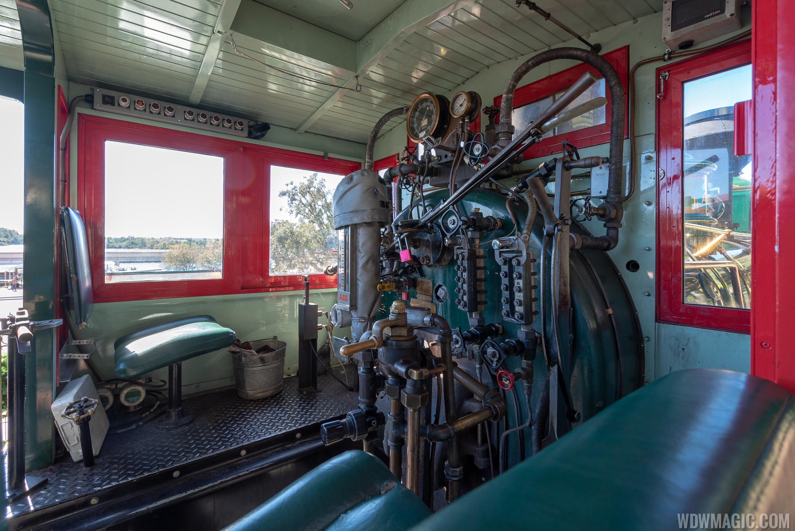 Walt Disney World Railway static exhibit
