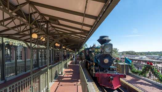 Walt Disney World Railroad static exhibit will move to Fantasyland