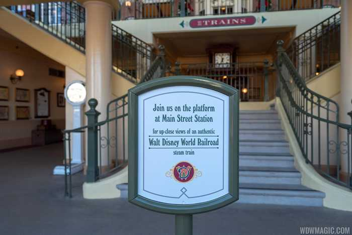 Walt Disney World Railway static exhibit