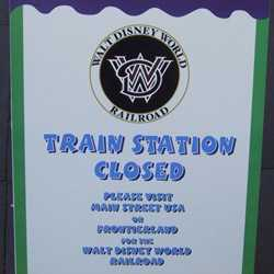 Toontown Train Station refrubishment