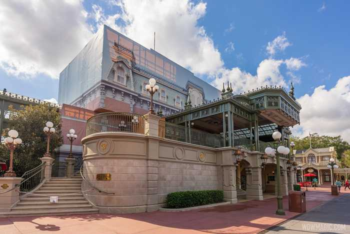 Main Street U.S.A. station refurbishment - January 2021