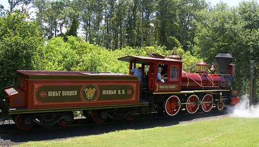 Early 2017 Walt Disney Word Railroad refurbishment extended