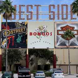West Side signage refurbishment completed