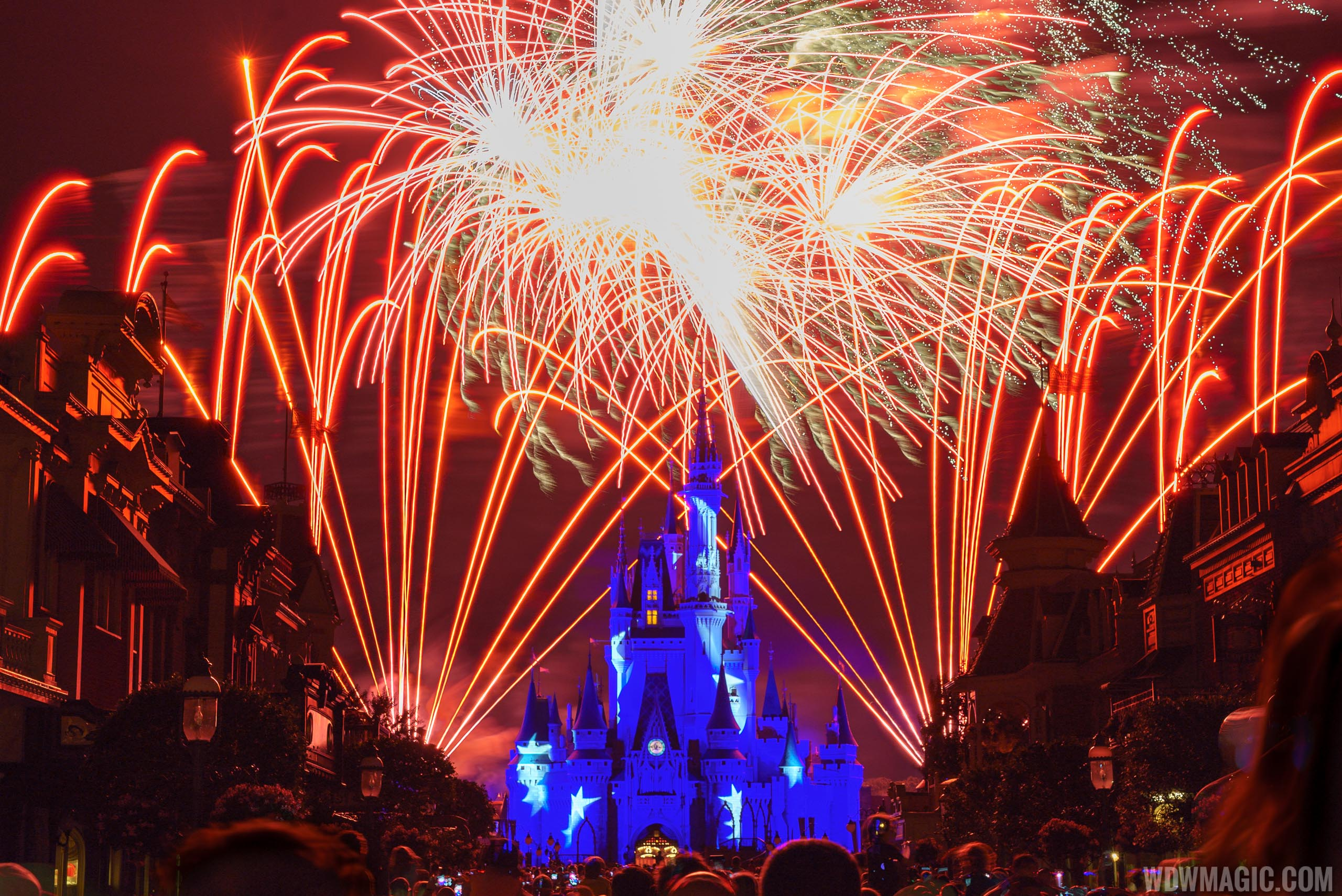 No firework shows are currently taking place at Walt Disney World