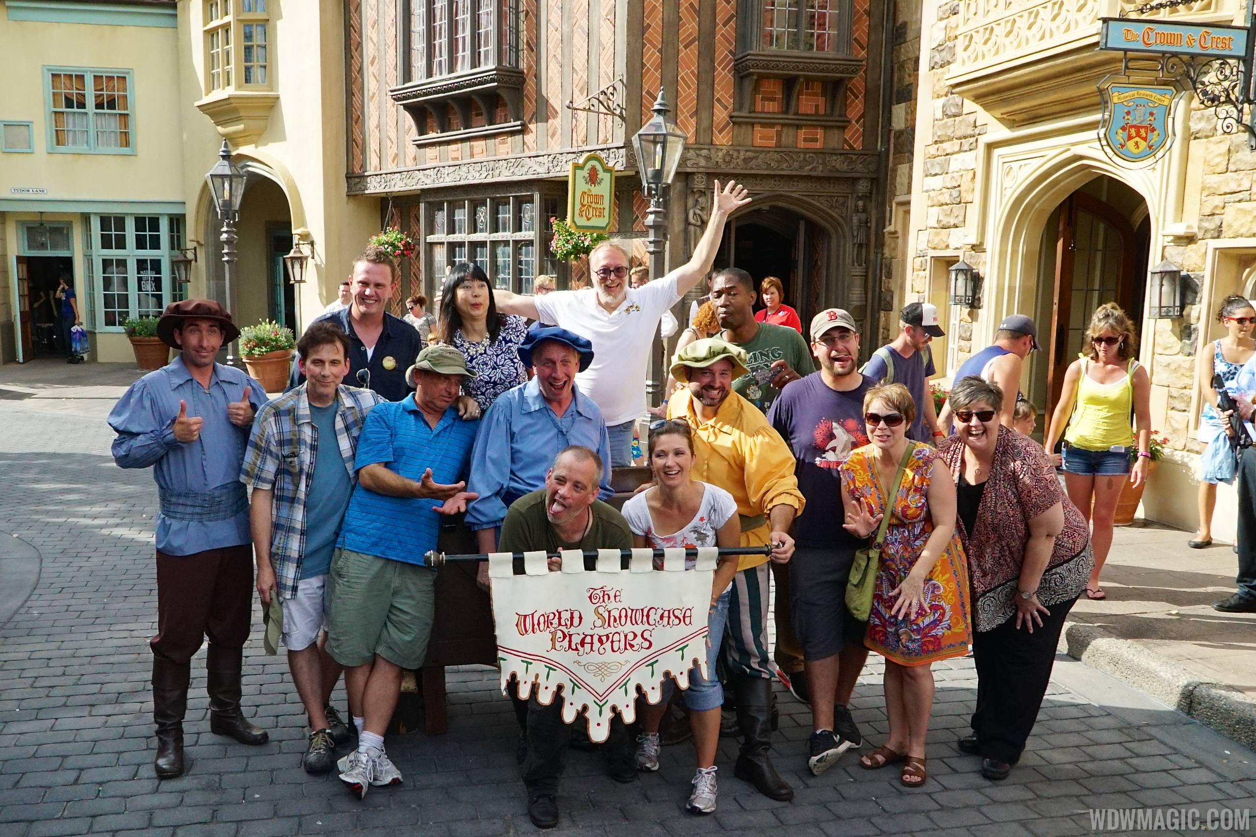 World Showcase Players with former members