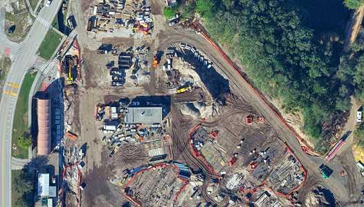 PHOTOS - Aerial views of the AVATAR land construction at Disney's Animal Kingdom
