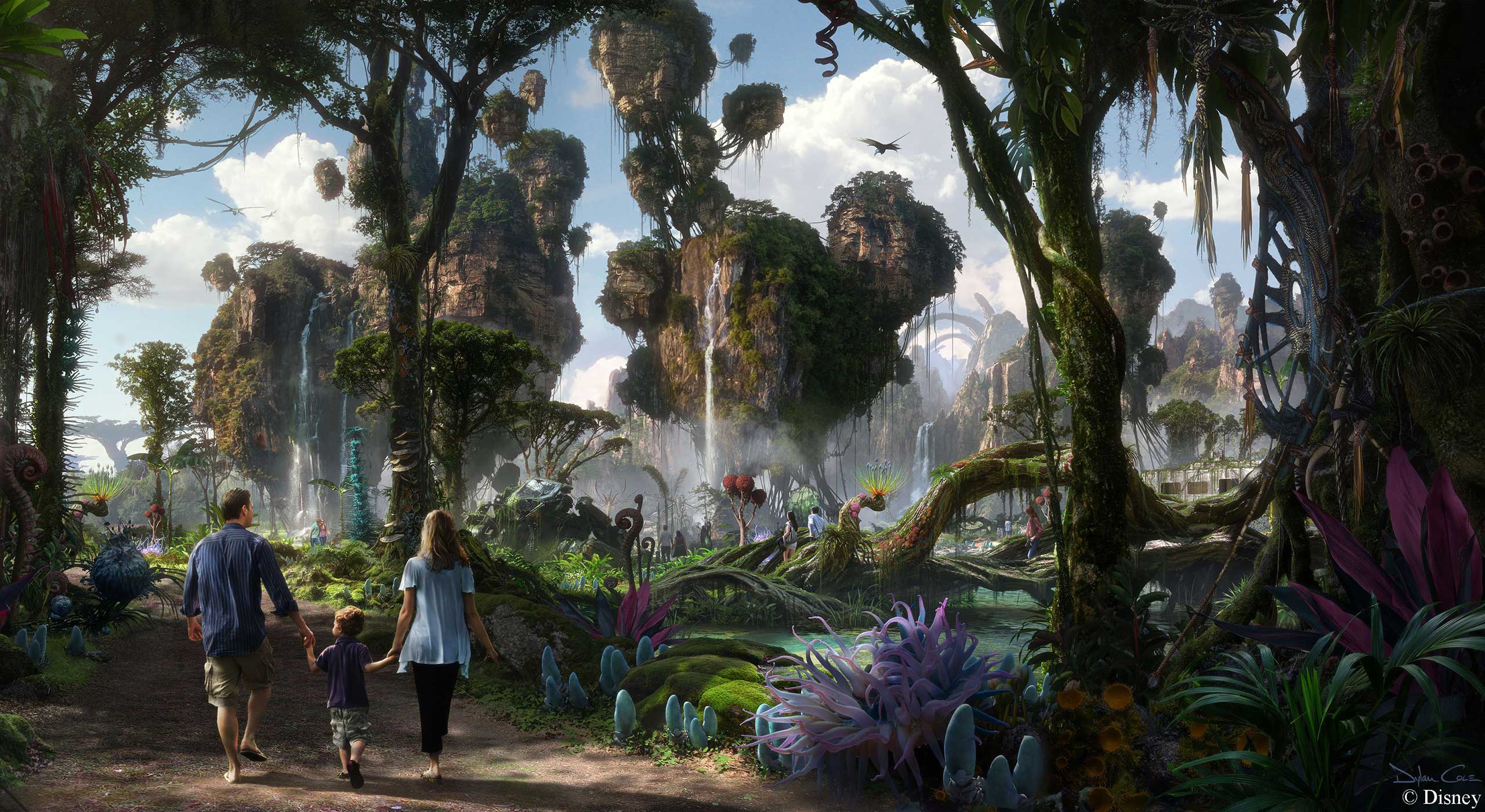 AVATAR Land concept art