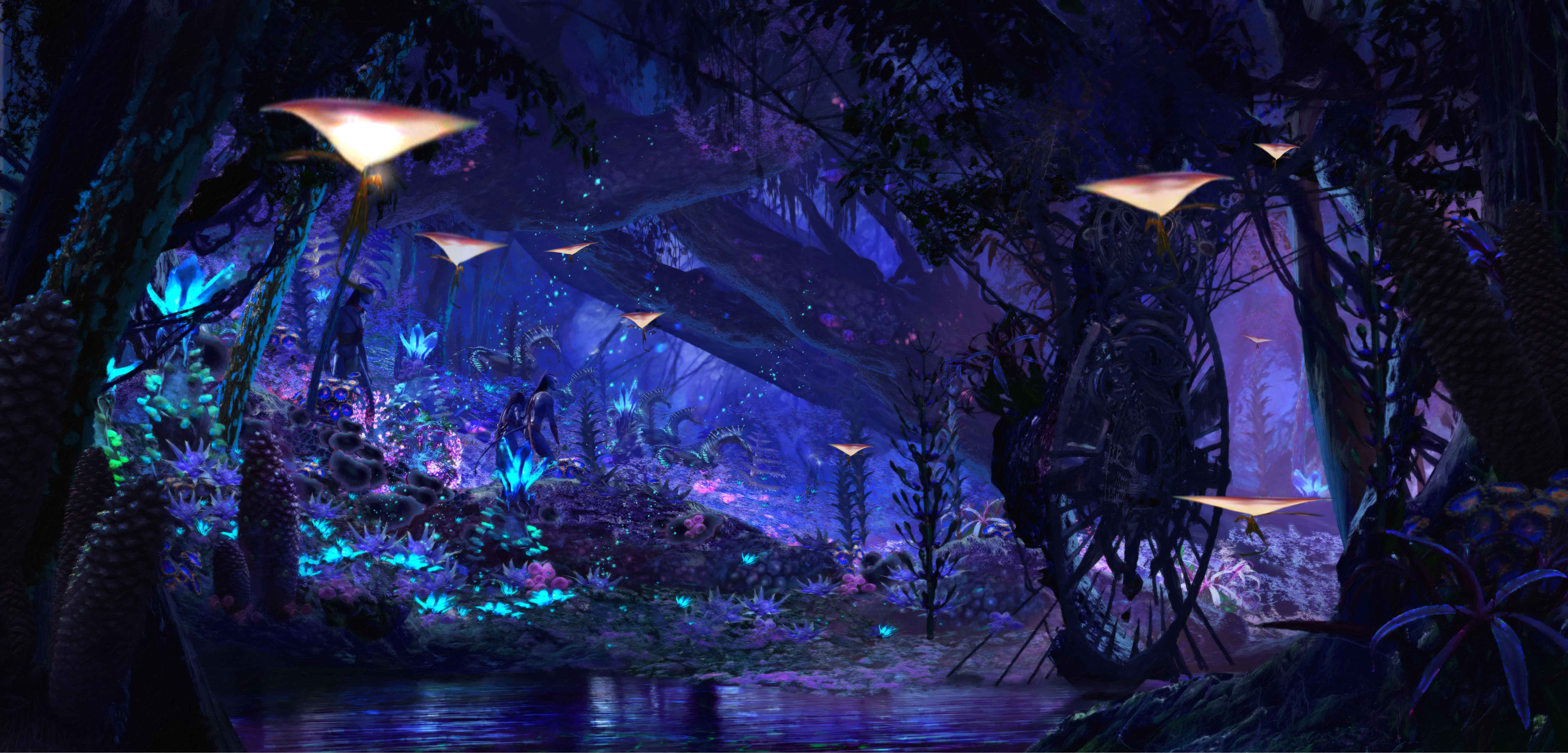 Na'vi River Journey concept art