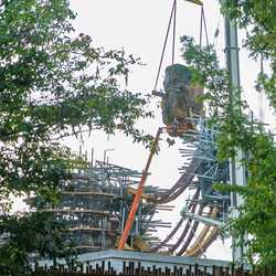 AVATAR land Pandora's floating mountains construction