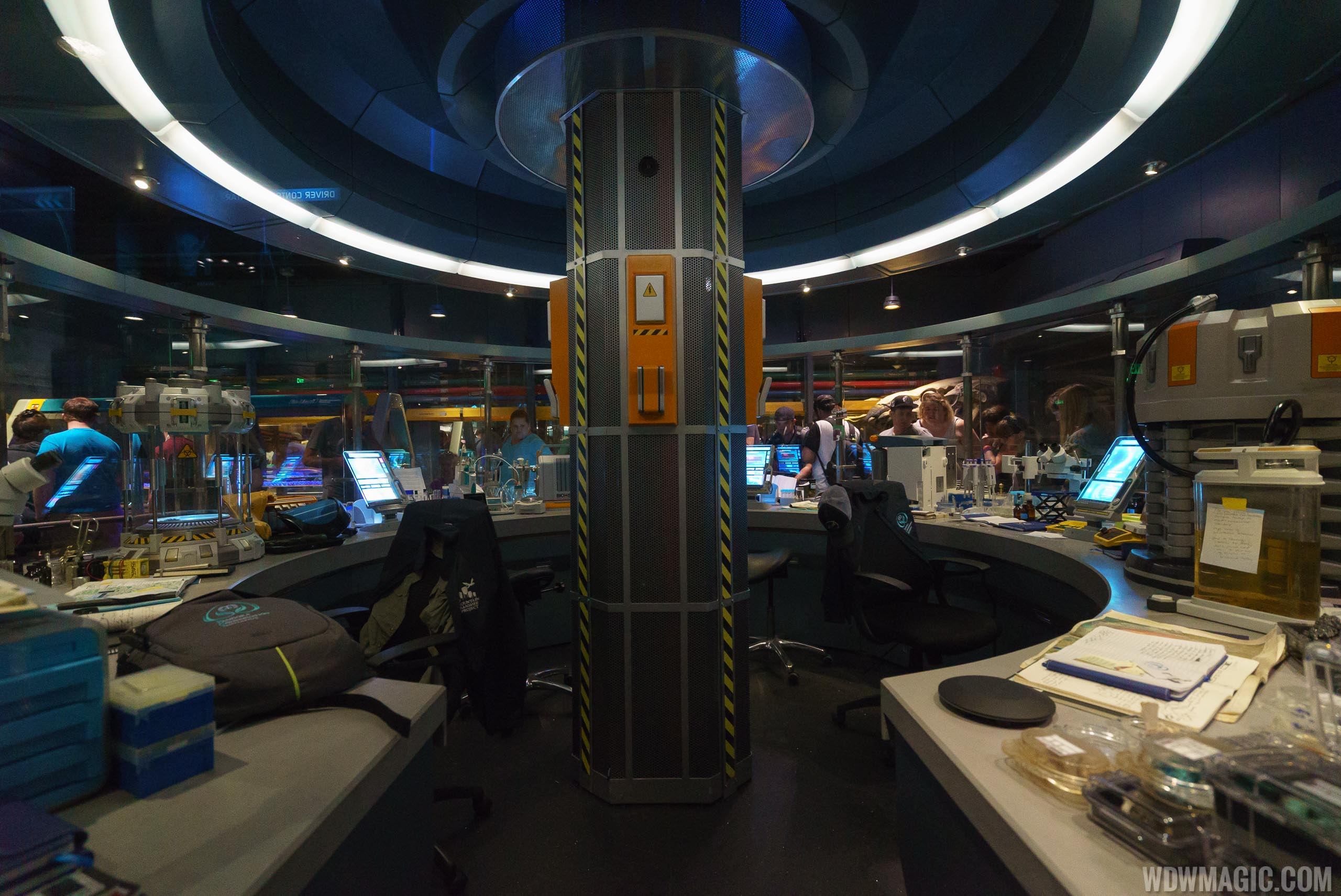PCI Mountain Banshee Project lab in Avatar Flight of Passage
