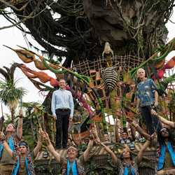 Dedication ceremony of Pandora - The World of Avatar